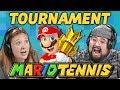 REACTOR WAR! | Mario Tennis Aces Tournament (React: Gaming)