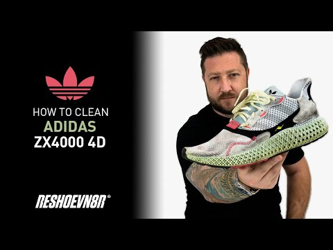 How To Clean Adidas ZX 4000 FutureCraft 4D With Reshoevn8r!