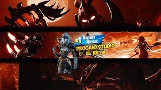 Fortnite Youtube Banner Free Download Photoshop  PSD FİLE  Progan X Studio