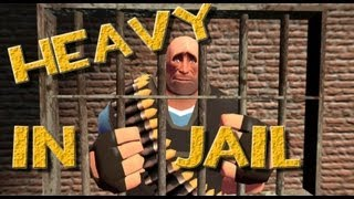 Team Fortress 2 - Heavy in Jail