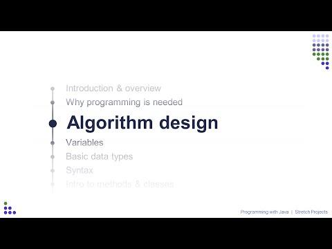 Learn Java: 3 Algorithm design