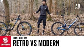 Retro Vs Modern Full Suspension Bike | The Giant Anthem Through The Years
