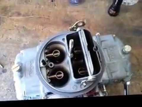 holley vacuum secondary tuning