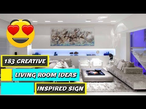 183 Creative Living Room Ideas Inspired Sign!
