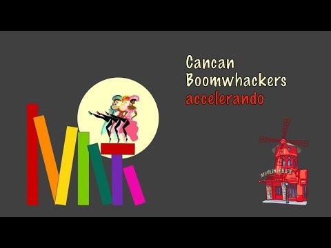 Cancan Boomwhackers Accelerando