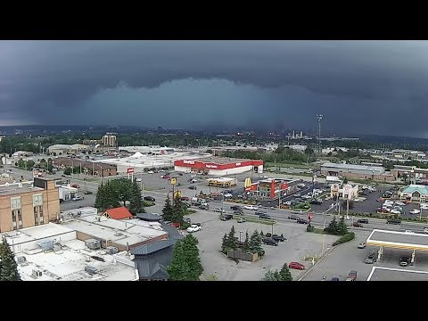 Severe thunderstorms pummel Sault Ste. Marie
