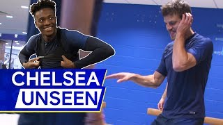 Kurt Zouma's Laugh, Willian's Free-Kick Masterclass & Azpilicueta DJs for Abraham | Chelsea Unseen