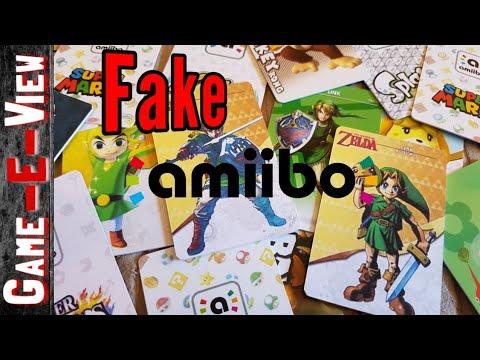 Amiibo - The Fake Kind!