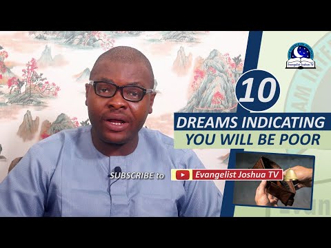10  DREAMS INDICATING YOU WILL BE POOR - How Do  You Know You Will Be Poor And Wretched