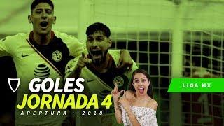 ⚽ Resumen Goles Jornada 4 Liga MX Apertura 2018 ⚽