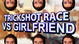 FaZe Hateful: Trickshot Race VS My Girlfriend!