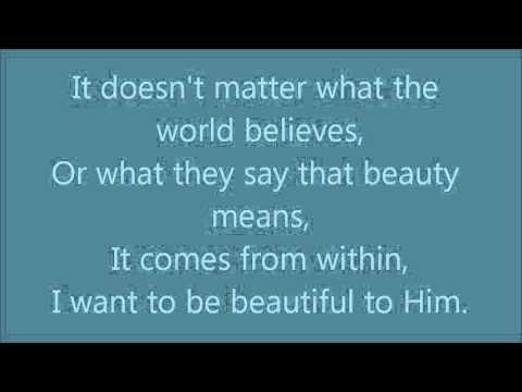 Rachel Thibodeau - Beautiful To Him Lyrics