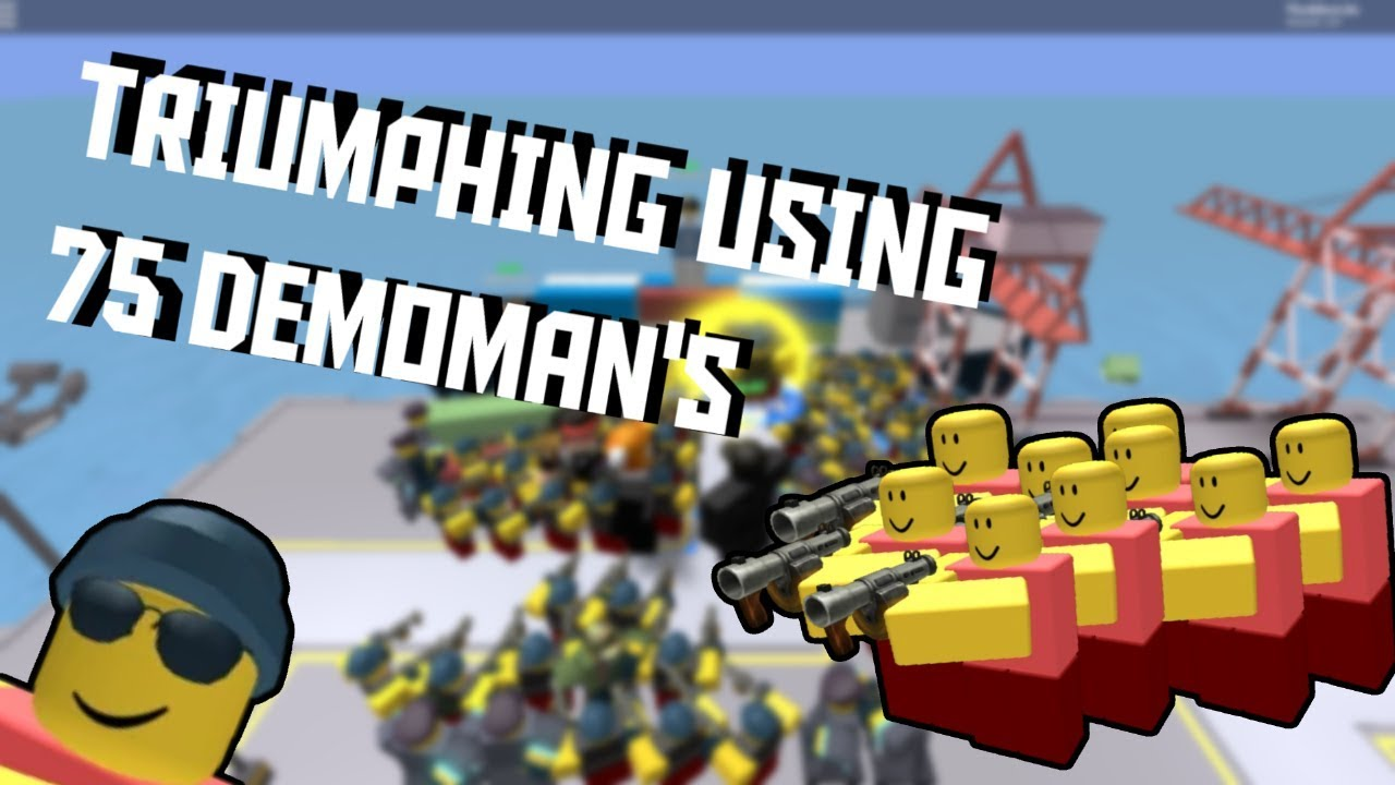 How far can you go with 75 Demoman [ROBLOX Tower Defense Simulator]
