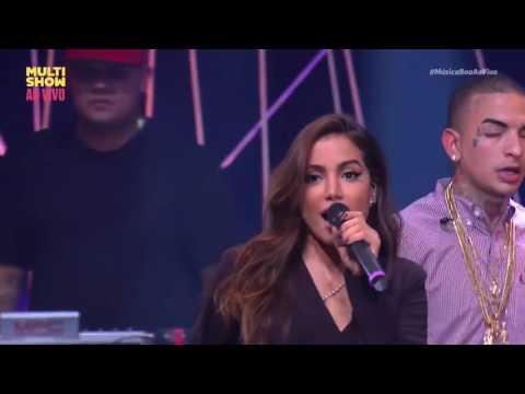 No Meu Talento - Anitta feat Mc Guimê (Música Boa Ao Vivo) HD