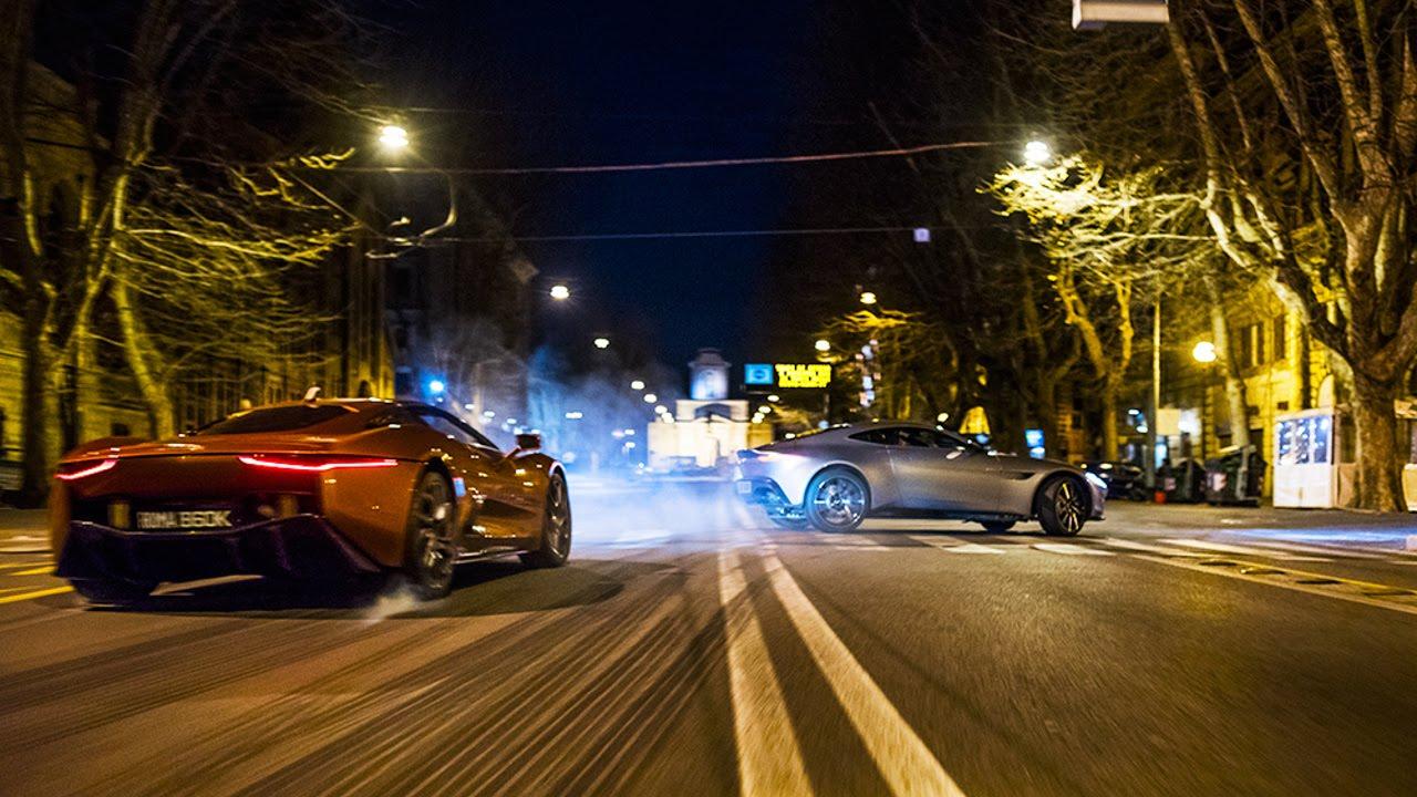 Spectre - pościgi na ulicach Rzymu