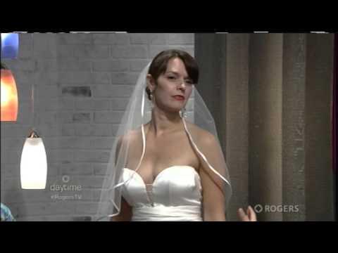 Ottawa Wedding Show Pop-up Bridal Boutique Luxe Bridal visits Daytime Ottawa