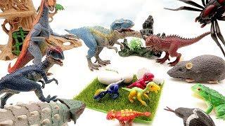 Dinosaur eggs are dangerous   Monster appeared in dinosaur jungle. Jurassic World2 Toys for Kids