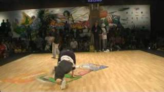 Ther & Yai vs Movie One & Raza | B-GIRL BATTLE | EUROBATTLE 2009
