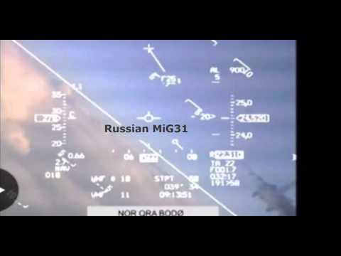 Russian jet nearly hits Nato jet over Norway