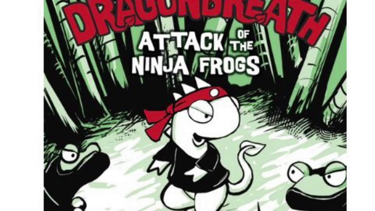 Dragon breath Attack On The Ninja Frogs