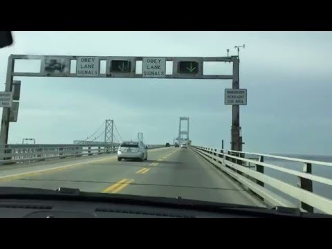 America's Scariest Bridge? Chesapeake Bay Bridge US 50 Westbound