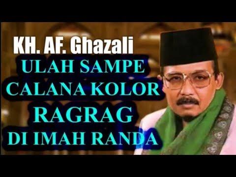 Ceramah KH AF Ghazali Ulama Kharismatik Jawa Barat