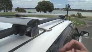 Аэродинамический багажник на крышу CRUZ Airo - Установка на рейлинги(, 2015-10-21T09:06:56.000Z)