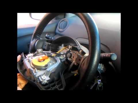 2002 Toyota Celica Wiring Diagram 1991 Gmc Jimmy Radio The Spiral Cable Replacement On - Youtube