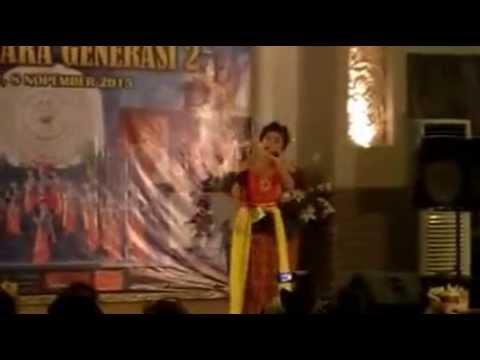 Dea Risma - Bhuana Shanti (Lomba Bali Kumara Generasi 2)