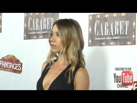 Olesya Rulin at the  Of Cabaret At Hollywood Pantages Theatre