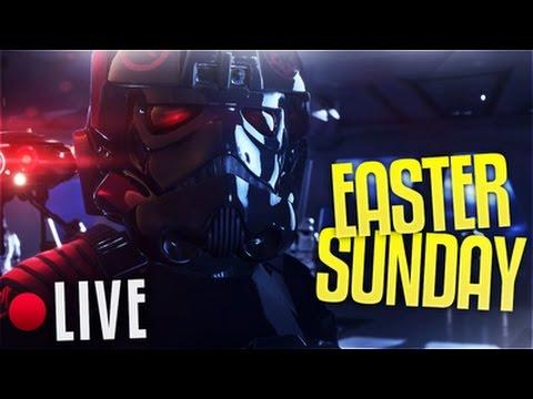 Star Wars Battlefront:  Easter Sunday !FUNday.
