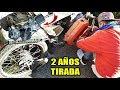 Reviviendo Moto Abandonada Hace 2 Años!!   Desarme + Limpieza   Joaquin 2t