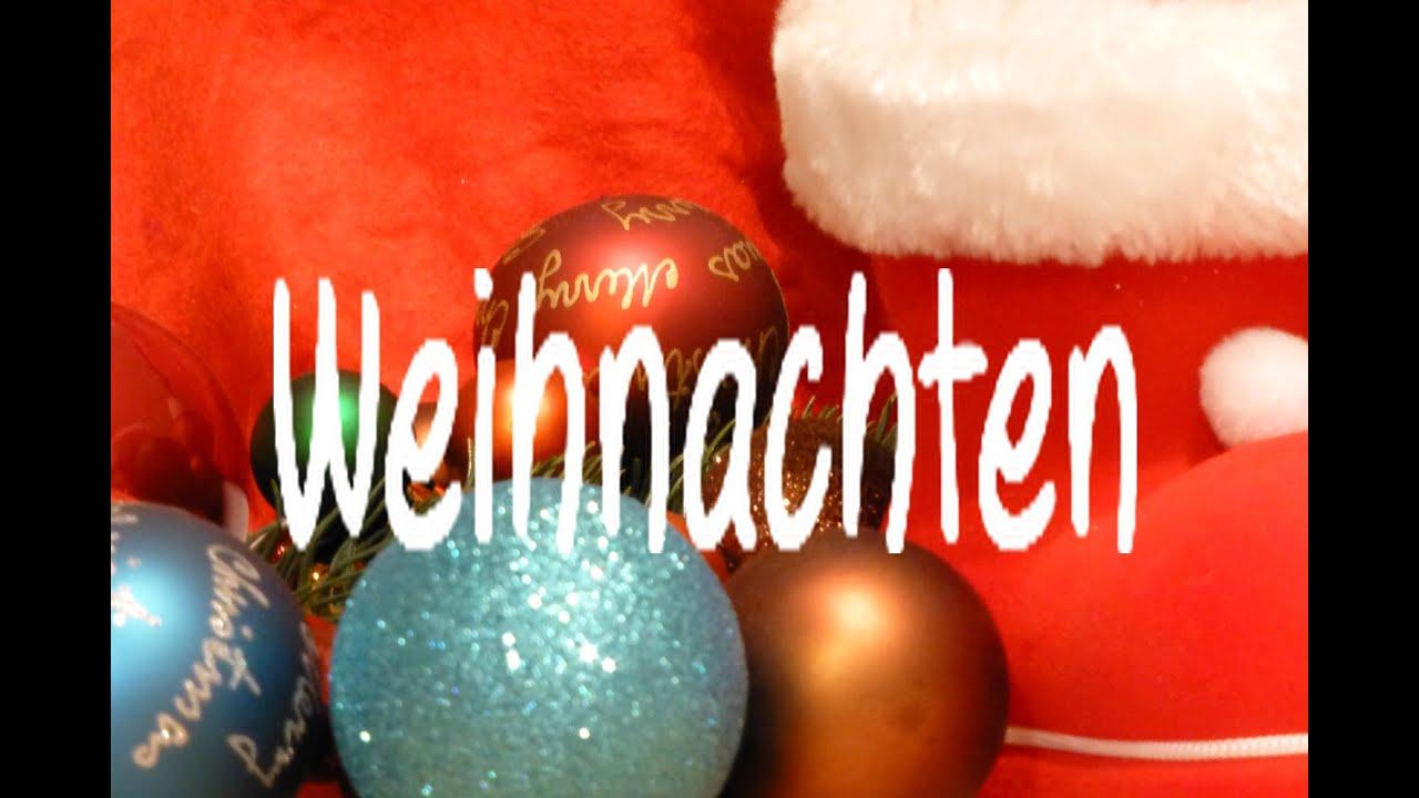 Learn German: Weihnachten - YouTube