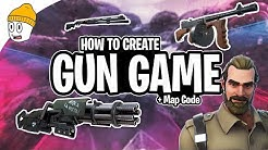 [Updated in Desc.] How to create/play Gun Game in Fortnite + Map Code [Mystery Guns]