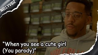 When you see a cute girl  (You parody)