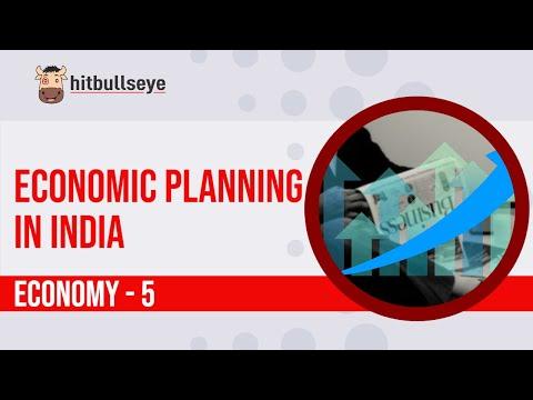 Economy 5: Economic Planning in India