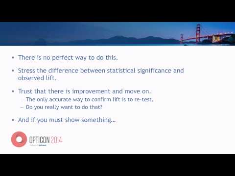OptiCon 2014: Is This Normal? Common Challenges Testing Programs Face