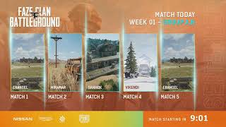 FaZe Clan Battleground Week 1