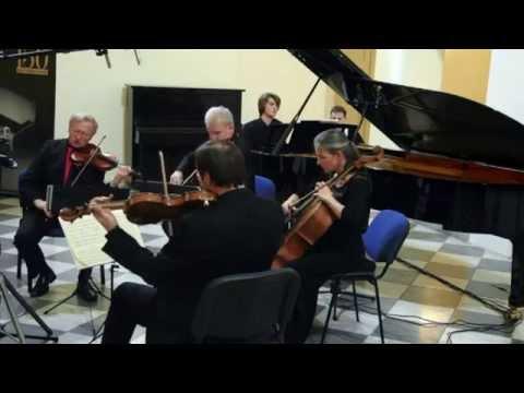 Klavírní kvintet A dur Antonína Dvořáka