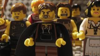 Theseus and the Minotaur Lego Animation