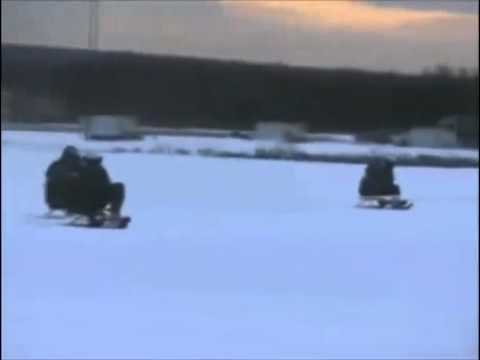 Swedish Airforce sledding fun LOL