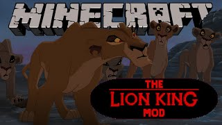 O Exílio! - O Rei Leão - Minecraft - The Lion King Mod #3