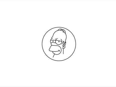 Drawing Homer Simpson Using Circles In HTML + CSS