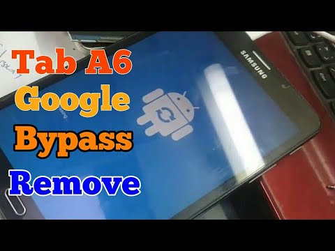Galaxy Tab A6 Frp Unlock How To Bypass Google Account