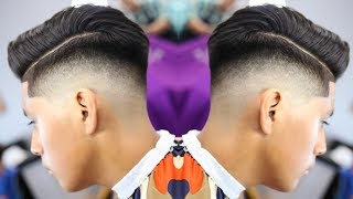 BARBER TUTORIAL: COMBOVER | HARD PART | BLOWDRY AND STYLE