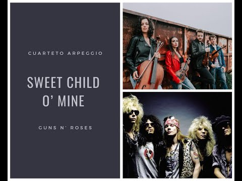 Music for Wedding, Cuarteto Arpeggio, Sweet child o´mine
