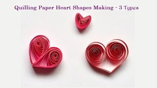 Quilling Paper Heart