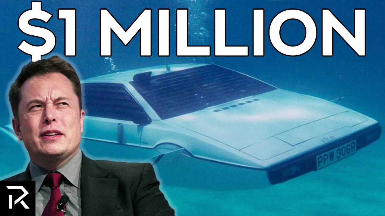 Elon Musk's $1 Million Dollar Submarine Car