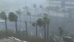 Hurricane Frances Video - Vero Beach Island and Ft. Pierce Beach, Florida