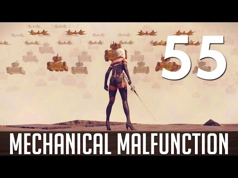 [55] Mechanical Malfunction (Let's Play NieR: Automata PC w/ GaLm)